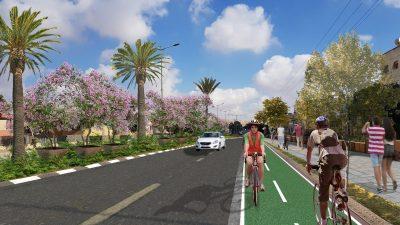 שבילי אופניים ברחבי העיר
